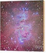 The Orion Nebula Region Wood Print