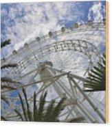 The Orlando Eye Wood Print