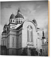 The Orthodox Cathedral And The Saint John The Baptist Church Wood Print