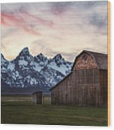 The Other Moulton Barn Wood Print