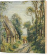The Outskirts Of Berneval  Wood Print