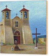 The Padre's Prayer Wood Print