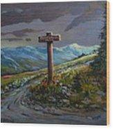 The Paintbrush Trail, Manning Provincial Park, B C Wood Print