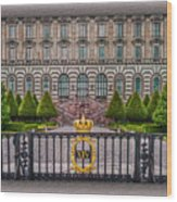 The Palace Courtyard Wood Print