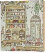 The Palace Kitchen Wood Print