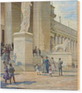 The Palace Of Fine Arts  Wood Print