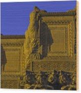 The Palace Of Fine Arts  Wood Print