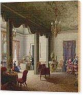 The Palace Of The Empress Alexandra Wood Print