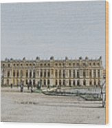 The Palace Of Versailles Wood Print