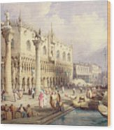 The Palaces Of Venice Wood Print