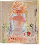 The Palazzo Casino Venetian Rose Dress Wood Print