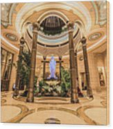 The Palazzo Inside Main Entrance Very Wide Wood Print