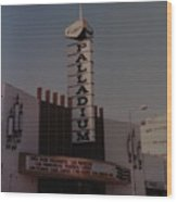 The Palladium Wood Print