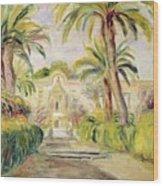 The Palm Trees Wood Print