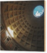 The Pantheon Wood Print