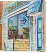 The Paperbacks Plus Book Store St Paul Minnesota Wood Print