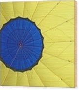 The Parachute Wood Print