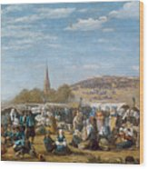 The Pardon Of Sainte Anne La Palud Wood Print