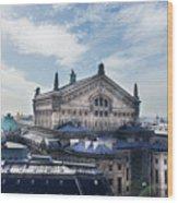 The Paris Opera 3 Art Wood Print