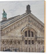 The Paris Opera Art Wood Print