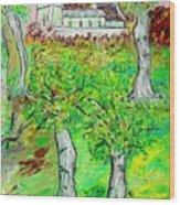 The Parish Curch Wood Print