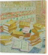 The Parisian Novels Or The Yellow Books Wood Print