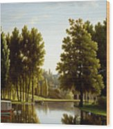 The Park At Mortefontaine Wood Print