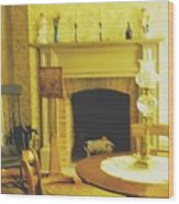 The Parlour Wood Print
