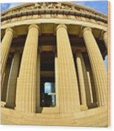 The Parthenon In Nashville Tennessee 3 Wood Print