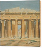 The Parthenon Wood Print by Louis Dupre