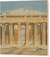 The Parthenon Wood Print by Louis Dupre