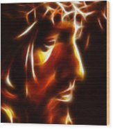 The Passion Of Christ Wood Print by Pamela Johnson