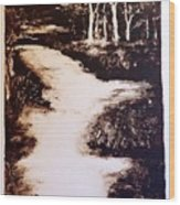 The Past Wood Print