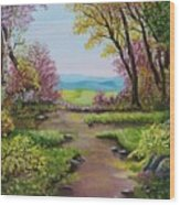 The Pathway To Heaven Wood Print