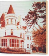 The Patton House Wood Print