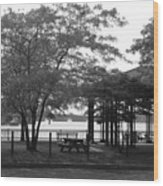 The Pavilion Wood Print