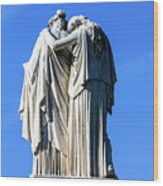 The Peace Monument Wood Print