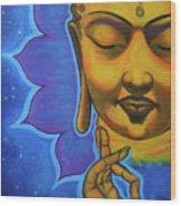 The Peaceful Buddha Wood Print