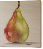 The Pear Wood Print