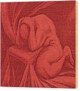 The Penitent Wood Print