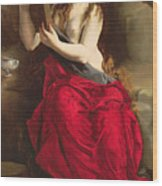 The Penitent Magdalen Wood Print