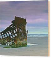 The Peter Iredale Wood Print