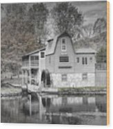 The Peterson Mill In Saugatuck Michigan Wood Print