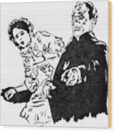 The Phantom Of The Opera Wood Print