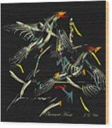 The Pheasant Hunt Wood Print