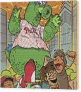 The Pherocious Phanatic Wood Print
