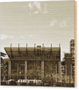 The Philadelphia Eagles - Lincoln Financial Field Wood Print