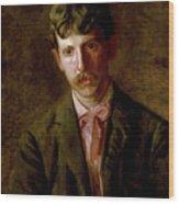 The Pianist, Stanley Addicks Wood Print