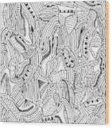 The Piano Wood Print