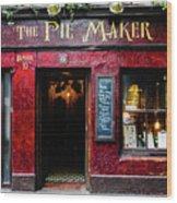 The Pie Maker Wood Print